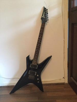 Ibanez electric guitar plus Line6 amplifier