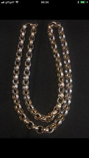 New solid gold belcher chain 142 grams