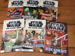 Star Wars books, unused new condition
