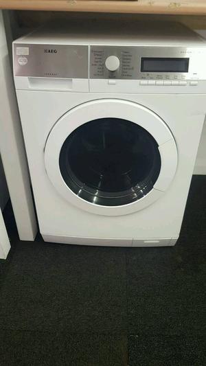 AEG 9KG  SPIN WASHING MACHINE IN WHITE