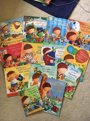 Harry and the dinosaurs books