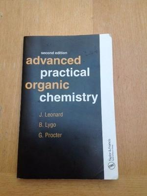 Advanced Practical Organic Chemistry, 2nd Edition - Leonard, Lygo and Procter - Guildford