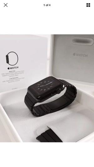 Apple watch black stainless steel