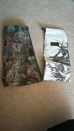 Camouflage camera lense covers