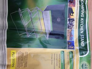 Camping kitchen stand. Brand new.