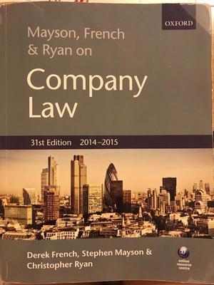 Company Law book