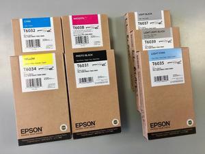 Epson ml Ink Cartridge Bundle
