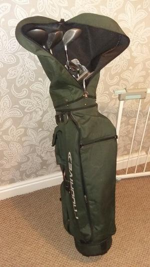 Full set of Golf clubs and bag for sale
