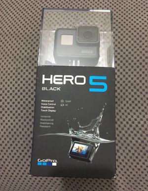 GoPro Hero 5 Black -Unopened, Brand New in Box