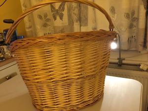 Ladies bicycle basket