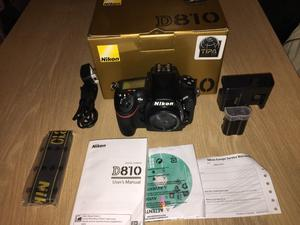 NIKON D810 DSLR BODY ONLY