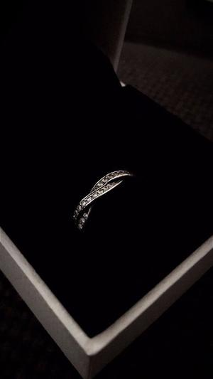 PANDORA Braided Pavé Ring (RRP £ ONO