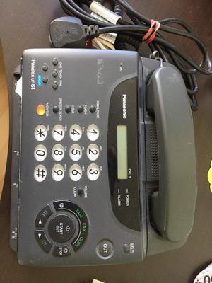 Panasonic Fax/Answer Machine plus Telephone