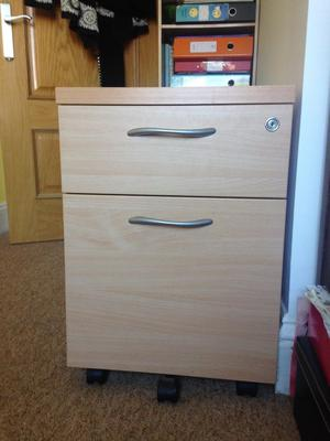 Perfect home office pedestal filing cabinet
