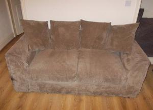 Set of two sofa's with cushions