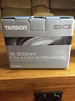 TAMRON AND CANON LENSES EXCELLENT CONDITION