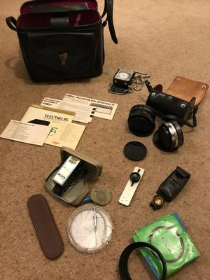 Vintage photography accessories