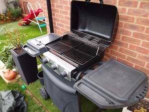 3 BBQ, Good working order with almost full GAS cylinder