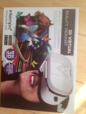 3D Virtual Reality Headset,Only been out the box.Great Christmas Present