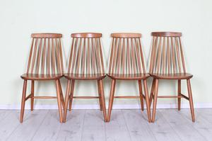 DELIVERY OPTIONS - 4 X ERCOL STYLE CHAIRS VERY STURDY SOLID
