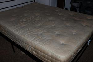 Kingsize Bed and Mattress