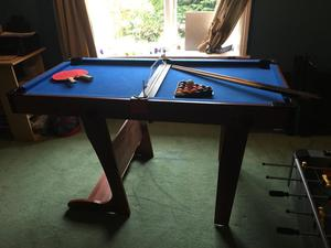 Pool Table/ Table Tennis