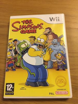 simpsons wii game
