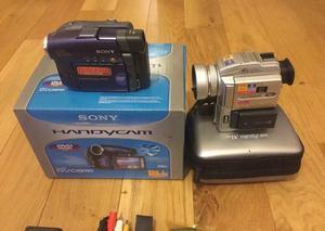 Boxed Sony DCR-PC110E & Sony DVD91E Digital Cameras