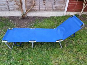 Camping bed folding single