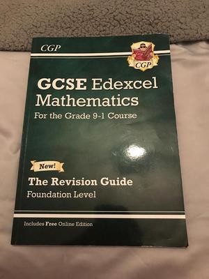 GCSE foundation maths revision guide