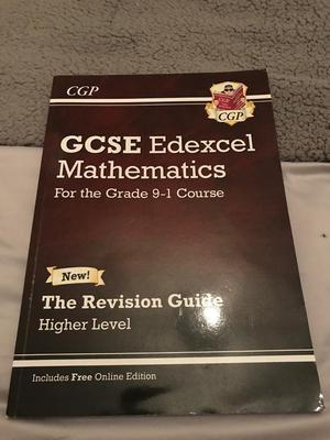 GCSE higher maths revision guide