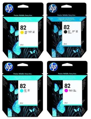 HP 82 INK CARTRIDGES. Selling in bulk. 3 x Yellow, 3 x Magenta, 3 x Black, 3 x Cyan