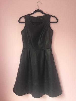 Leather dress Reserved 36