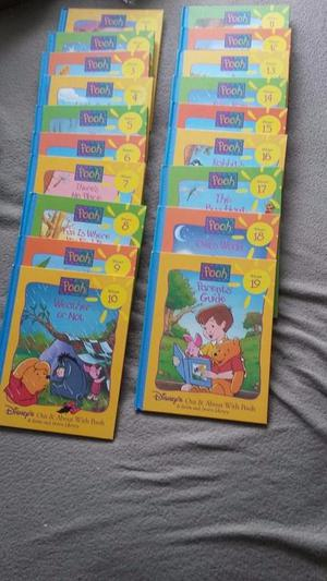 Lovely Children's Winnie the Pooh 'Out and About'Complete book collection