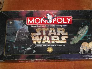 Star Wars Limited Collectors Edition Monopoly from