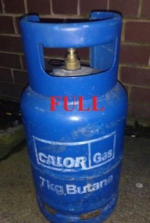 Calor Gas Bottle 7kg Full Caravan Motorhome Camping bbq. BARGAIN