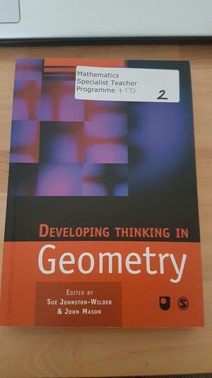 Developing Thinking in Geometry Textbook by Johnston-Wilder and Mason
