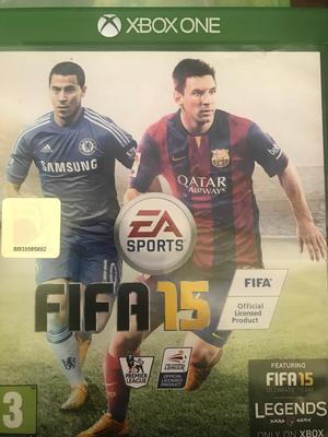 FIFA 15 Xbox one game