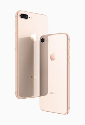 Gold Unlocked IPhone 8 plus 256GB