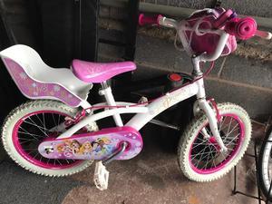 Kids bike girls princess 16 inch wheels