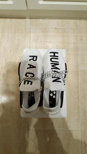 Mens addidas human race trainers