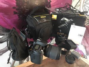 Nikon D90 with accessoriea