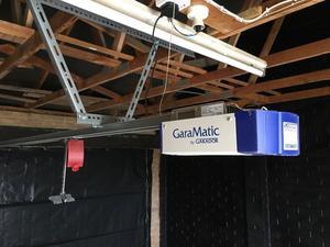 Up and over gardar electric garage door opener