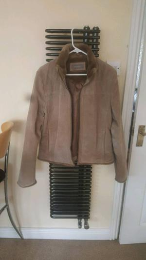 Womens Suede Jacket size