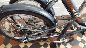 brand new folding bike never been used.