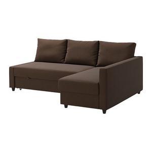 £275 Brown Ikea Corner sofa-bed new price £429