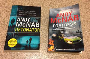 Andy Mcnab books - Detonator and Fortress