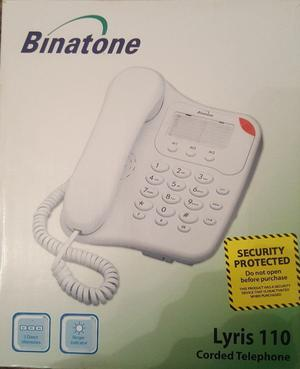 Binatone lyris 110 corded telephone - still in box