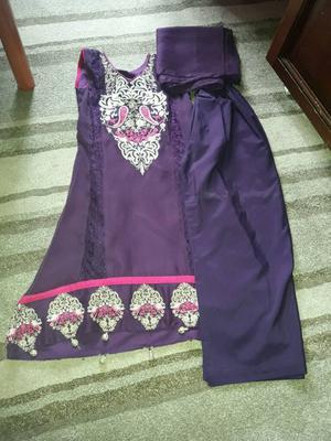 Brand new purple dress