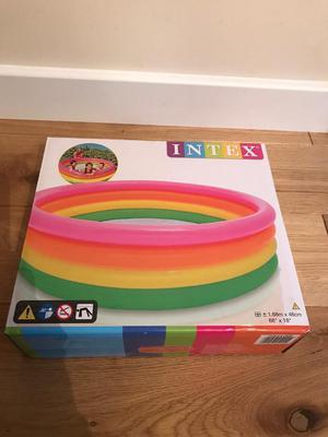 Brand new unopened Intex paddling pool.